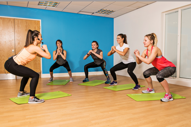 Total Toning Excercise class